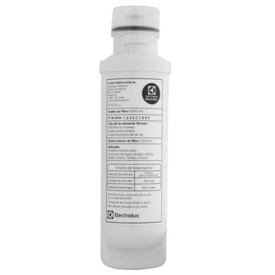Refil/filtro De Purificador De Água Electrolux Para Modelo