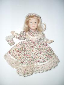 Boneca De Porcelana Knightsbridge Dolls Antiga - Frete 11.90