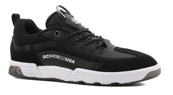 Tênis Dc Shoes Legacy 98 Slim Se Black Camo 10881 Original
