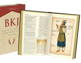 Bíblia De Estudo King James 1611 Luxo Preta Estudo Holman Bv