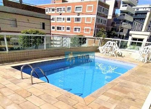 Imagem 1 de 27 de Apartamento Com 2 Dormitórios À Venda, 82 M² Por R$ 380.000,00 - Canto Do Forte - Praia Grande/sp - Ap0658