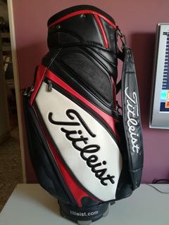 Bolsa De Golf Titleist Midstaff Cuero