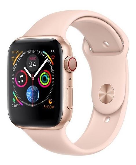 Promoção Imperdível Iwo 8 - Preto Ou Rose Smartwatch Re