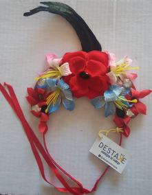 Tiara Rosa Vermelha E Flores