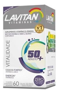 Lavitan Sênior Vitalidade Com 60 Comprimidos