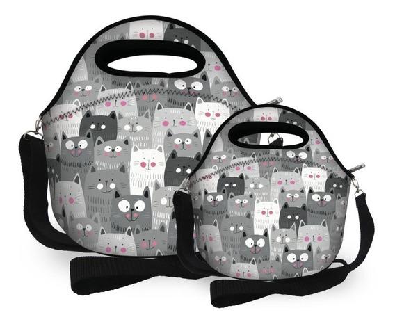 Bolsa Feminina Kit Com 2 Bolsas Grande E Pequena Promoção