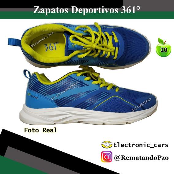 Zapatos Deportivos Running 361° Caballero Nuevo Talla 41