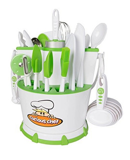 Coleccion Curious Chef 30piece Chef Caddy