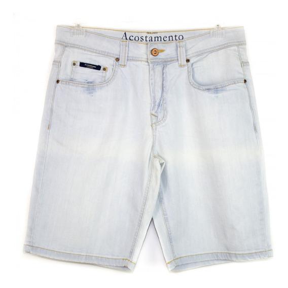 Bermuda Jeans Masculina Acostamento Clara 68116041