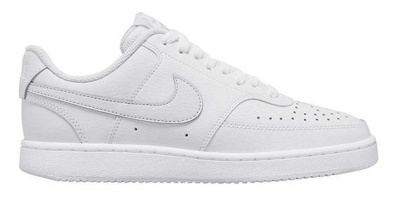 Tênis Nike Court Vision Branco Couro