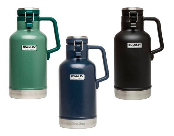 Termo Growler Stanley 3 Colores 1.9 Lt Botellon Frio Cerveza