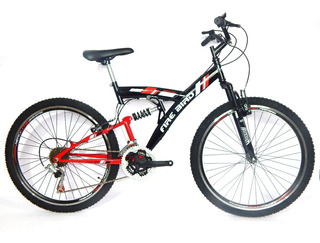 Bicicleta Gm Doble Suspensión 19302 Mountain Bike Rodado 26