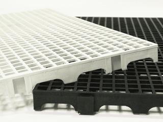 Kit 03 Pçs - Palete Estrado Plástico 2,5 X 25x50 Cm