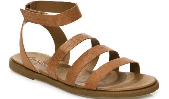 Sandália Perky Rasteira Desert Sandal Havana