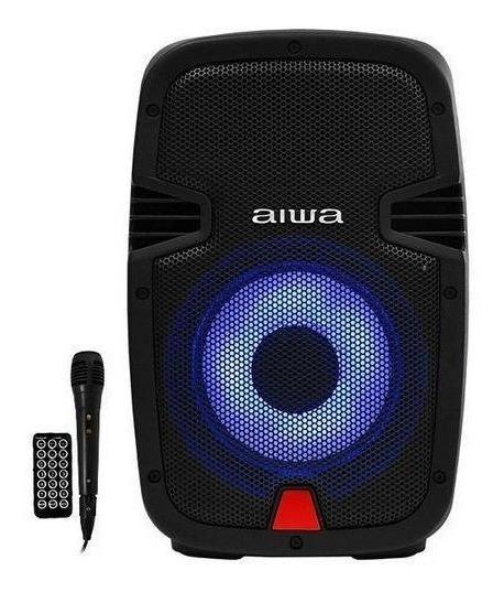 Caixa Karaokê Aiwa Awsp08m 8 300 Watts Pmpo Com Bluetooth
