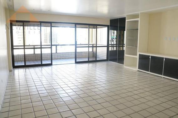 Apartamento Com 4 Quartos À Venda, 196 M² Por R$ 1.100.000 - Boa Viagem - Recife/pe - Ap2269