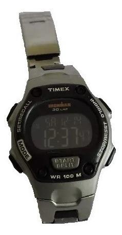 Relogio Timex Ironman 30 Lap Bom Estado Funcionando