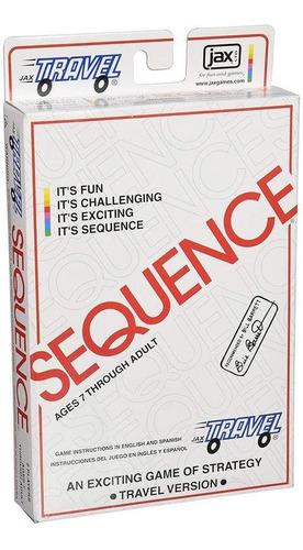 Juego De Mesa Jax Sequence Travel Version