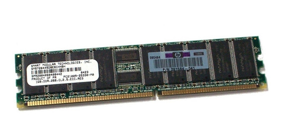 Memoria Hp Smart 1gb Ddr 266mhz Pc-2100r Ecc Registered Server