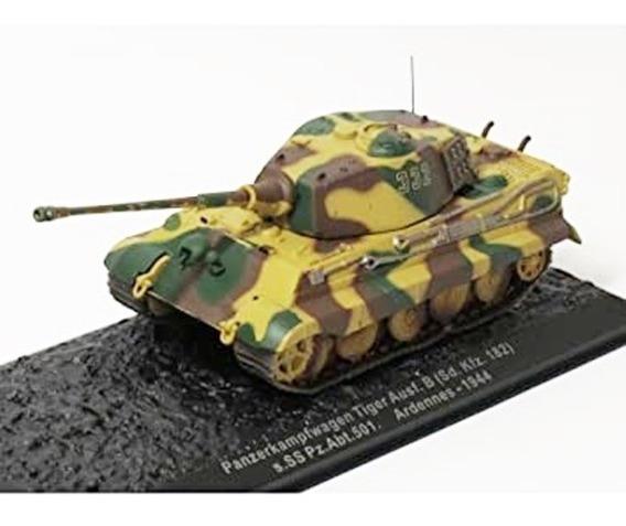 Tanque De Guerra Pz. Kpfw. Vi Tiger Ii Esc 1:72 Coleccion