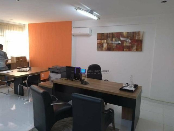 Sala Para Alugar, 50 M² Por R$ 1.000,00/mês - Botafogo - Campinas/sp - Sa0394