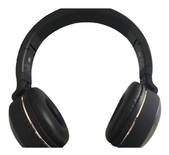 Fone De Ouvido Estéreo B16 Sem Fio Hmaston Radio Fm Metal Super Bass Wireless Som Digital Com Microfone Não É Jbl Sony