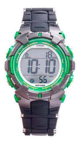Reloj Strike Watch Resina M1199-0afc-bkgn Mujer Original