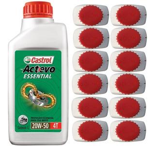 Óleo Lubrificante Motor Castrol 20w50 Actevo Mineral 12 Lts