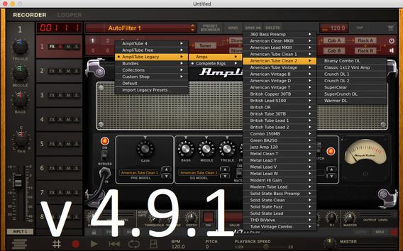 Amplitube 49.1 Completo+ Suporte + Brinde Windows & Mac