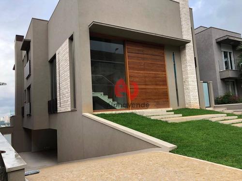 Imagem 1 de 30 de Villa Solaia - Casa Com 4 Suítes À Venda, 575 M² - Alphaville - Barueri/sp - Ca6197