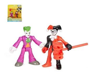 Imaginext Dc Guason Joker & Harley Quiin Figura Fisherprice