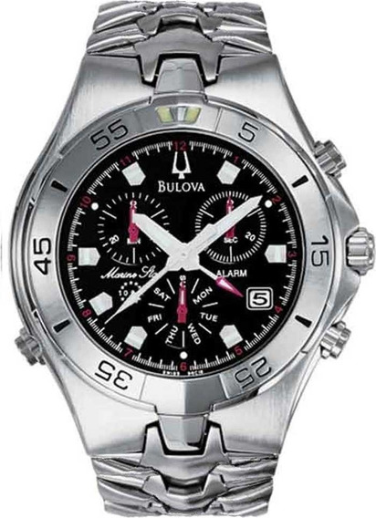 Relógio Masculino Cronógrafo Bulova Marine Star Wb30373t