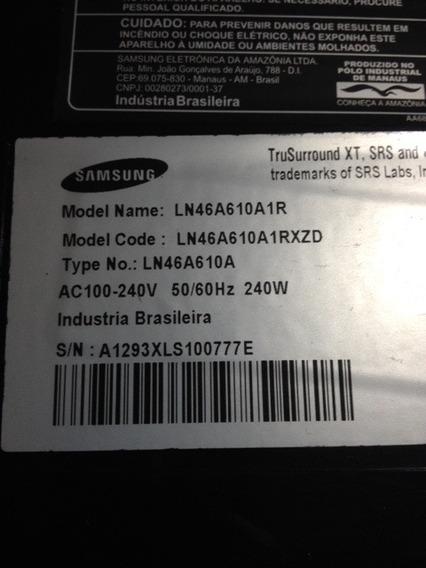 Tela Display Ltf460ha03 Tv Samsung Ln46a610a1r