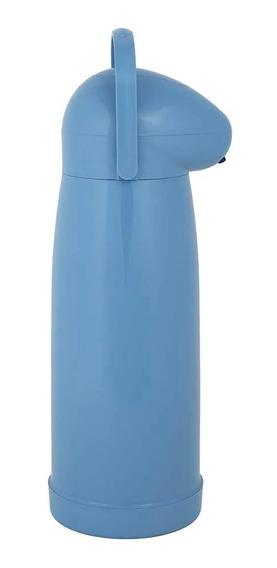 Garrafa Térmica Nobile 1 Litro Azul Mor
