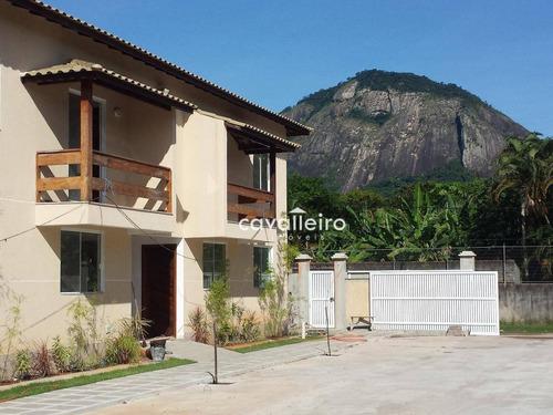 Apartamento Com 2 Dormitórios À Venda, 75 M² Por R$ 185.000,00 - Inoã - Maricá/rj - Ap0083