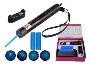 Puntero Laser Azul Apuntador Astronomia Recargable Astronomi