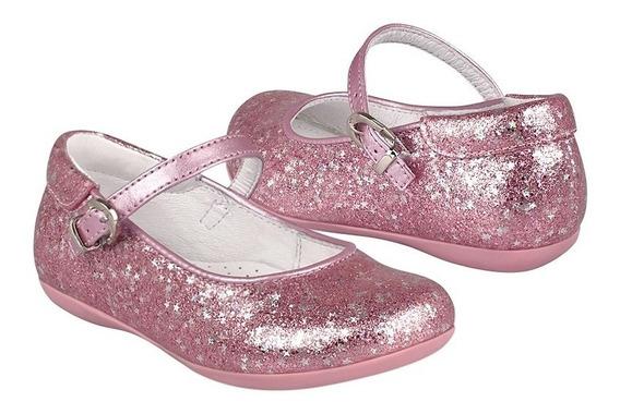 Zapatos Casuales Para Niña Chabelo 75802-4-k Simipiel Rosa