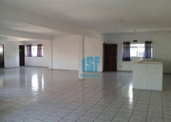Salão Para Alugar, 240 M² - Km 18 - Osasco/sp - Sl0057 - Sl0057