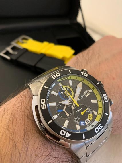 Relógio Pulso Orient Masc Titanium Troca Pulseira