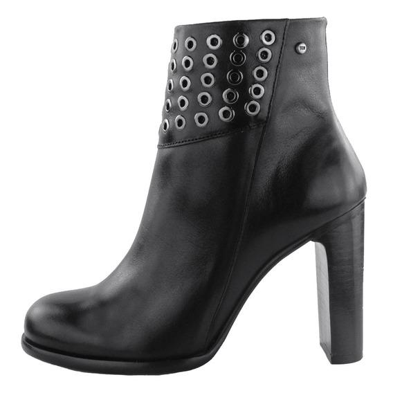 Zapatos Dama Estilo Botín Casual Cómodo I127291 Negro Levi