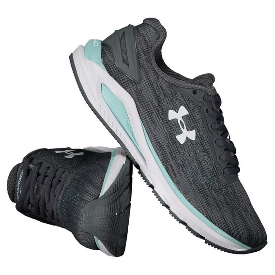 Tênis Under Armour Charged Carbon Feminino Cinza