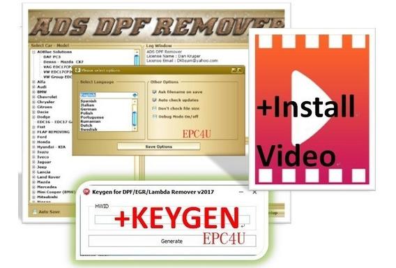 Software Dpf Egr Lambda Remover [05.2017] + Keygen