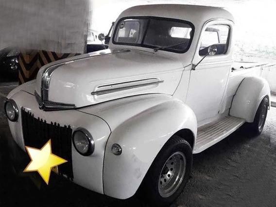 Camioneta Ford Clásica 1956