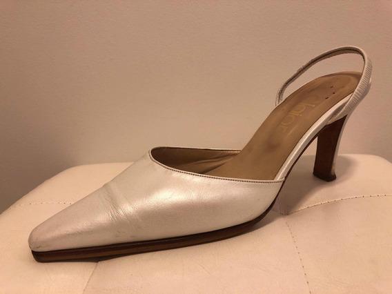 Zapatos De Novia Blanco Perlado