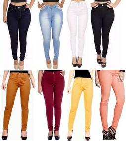 Calça Jeans Cintura Alta Hot Pants, Levanta Bumbum-promoção