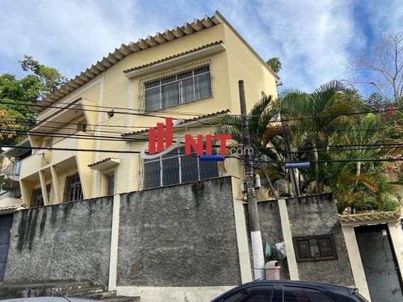 Casa À Venda No Bairro Santa Rosa Em Niterói/rj - 287