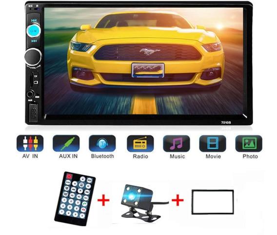Central Multimídia Mp5 Usb Bluetooth Câmera Re Espelhamento