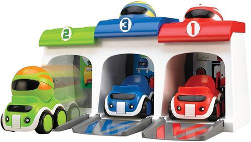 Autos Corredores Locos Banco Descarga Tomy 92104 Full