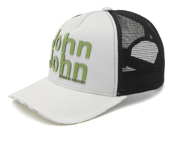 Boné Trucker John&john Logo