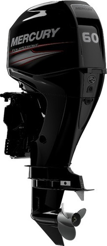 Imagem 1 de 3 de Motor Mercury 60 Hp Elpt Efi Ct 4 Tempos Poddium Nautica
